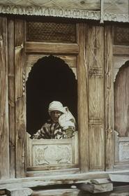 Woman at a Window, Barra Bangal, India